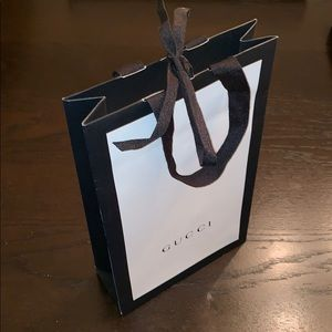 Gucci collectible shopping bag
